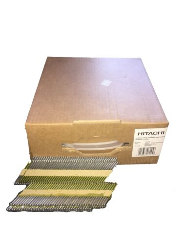 3300 Nails Hitachi Collated Nails 1st Fix Galvanized 705610 64mm x 2.8mm NO...