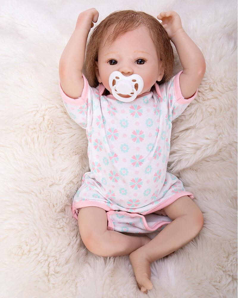 niño niña Reborn Bebé Muñeca 19 realista de Regalo ...