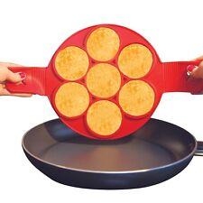 Non Stick Pancake Pan Perfect Breakfast Maker Egg Ring Omelette Flipjack Tools