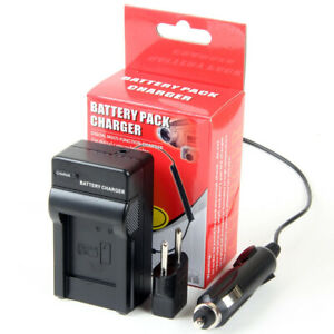 Cargador de Batería para Panasonic Lumix DMC-FS3 DMC-FS5 DMC-FS20 DMC-FX30 DMC-FX33
