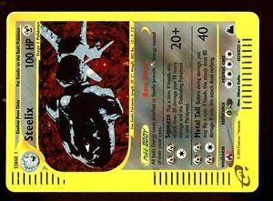 POKEMON-SKYRIDGE-HOLO-ENGLISH-CARD-CARTE-N-H29-H32-STEELIX-100-HP
