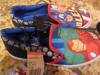 Marvel Avengers Boy's Slip On Casual Shoes- Size 13 Little Kid-