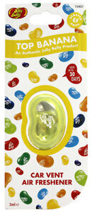 Jelly Belly Car Air Freshener - Top Banana Vent Clip