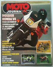 N°671 MOTO JOURNAL  Kawasaki KR 250/Yamaha DT 80 LC