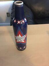 Collectible Mountain Dew Patriotic Stars Aluminum Bottle