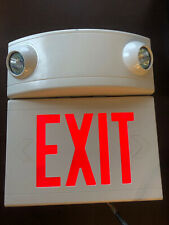 Dual Lite Exit Sign Light Emergency