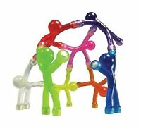 Mini Bendable Strong Rare Earth Q-man Magnets Assorted Colors S... Free Shipping