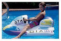 Kids Pool Inflatable Jet Ski Design Lake Lounger Float Ride Water Beach Fun