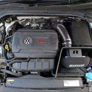 Nero-Ramair-Induzione-Filtro-Aria-Kit-Di-Aspirazione-Per-VW-Golf-mk7-2-0-TSI-GTI-MQB