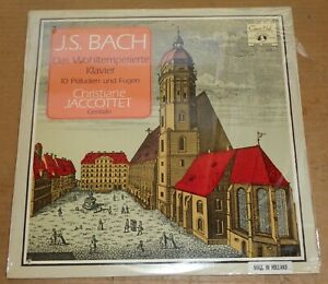 Christiane-Jaccottet-BACH-10-Preludes-And-Fugues-Concert-Hall-SMS-2596-SEALED