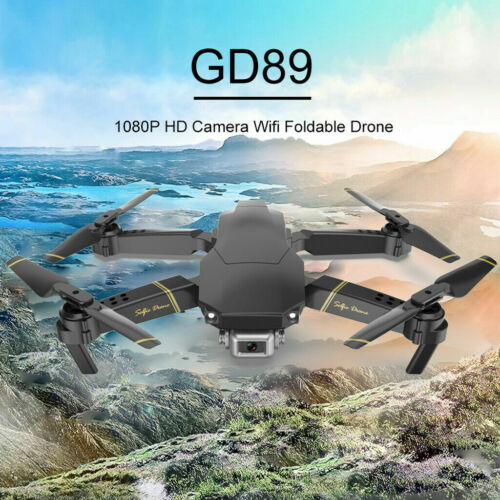 GD89 RC Drone Foldable 2.4G WIFI With FPV HD Camera Remote Control Quadcopter