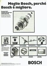PUBLICITE ADVERTISING 046  1969  Bosch  bougiess lave-vaiselle machine à laver