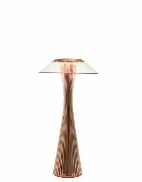 Lampada da tavolo Kartell Space colore Rame
