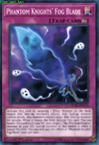 Phantom Knights/' Fog Blade LEHD-ENC21 X 1 Mint YUGIOH Continuous Trap Card