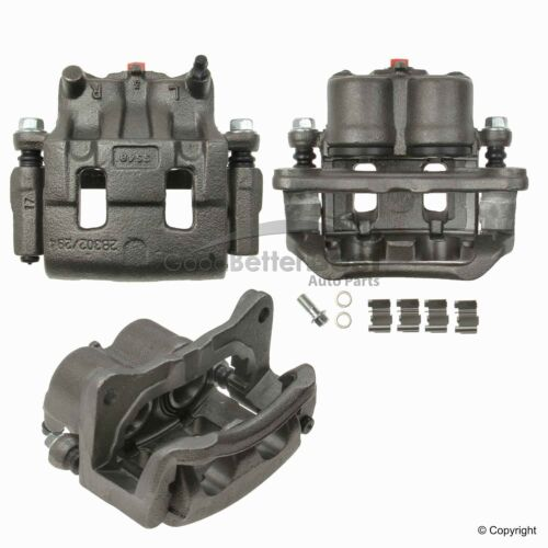 One OPparts Disc Brake Caliper Front Left 61232550 for Mazda CX-9