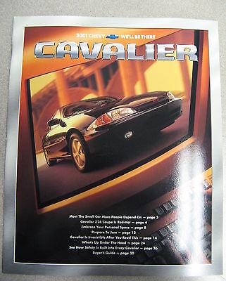 1995 Chevrolet Chevy Cavalier 28-page Original Sales Brochure Catalog