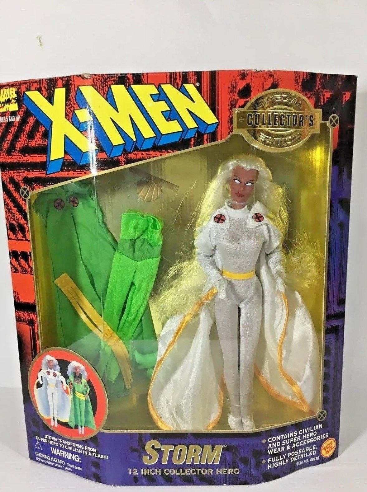 "Marvel Comics X - Men Storm 12"" Collector Hero By Toy Biz 1996 Item   48416"