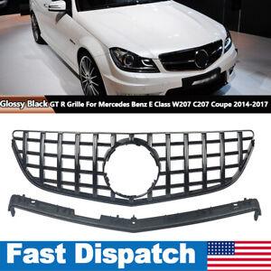 GTR Grille For W207 C207 E-Class Coupe Convertible E200 E250 E350 E550 2DR 14-16