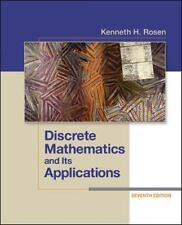 Discrete Mathematics and Its Applications by Kenneth H. Rosen (2011, Hardcover)