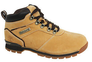 Details about Timberland Splitrock 2 Lace Up Hiker Wheat Nubuck Leather MensBoots A11X4 B85C