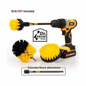 4Pack-Power-Scrubber-Cleaning-Extended-Long-Attachment-Set-All-Purpose-Revolv