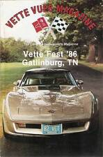 February 1987 Vette Vues Bob & Leshia Bodo NJ 1982 Corvette Collectors Edition