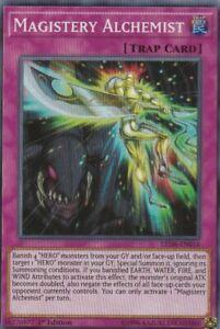YUGIOH-HOLO-CARD-1-X-MAGISTERY-ALCHEMIST-LED6-EN016-1ST-EDITION
