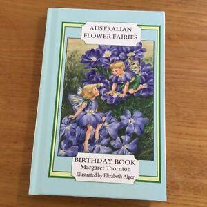 AUSTRALIAN-FLOWER-FAIRIES-BIRTHDAY-BOOK-MARGARET-THORNTON-EXCELLENT-AS-NEW