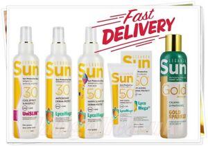SUN OLIO PROTETTIVO SPF 30/Emulsione/Dopo Sole Crema Viso Ricostituente SPF 50 LEGANZA