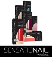 Sensationail By Nailene Gel Nail Polish For Use With Led Lamp, Choose Your Shade