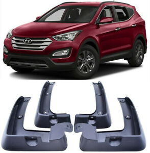 Custom MUDFLAPS MOULDED Contour Mud Flaps HYUNDAI Front of Car