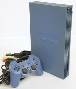 Acheter Pas Cher Ps2 Console Système Scph-9000 Tb Jouets Bleu Réf / J5292547 Testé Playstation 2