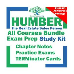 Humber College Real Estate Sales Person RECO All Courses Study Books, Real Estate Essentials, Residential, Commercial Ontario Preview