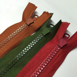 Zips 55cm Maroon Open End Zip