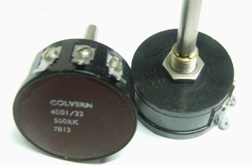 Colvern clr-4001 22-500rk 500R 3W FILO AVVOLTO POTENZIOMETRO 4001//22