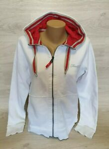 nice cheap clearance sale closer at Details about Bogner Fire + Ice hoodie jacket white reflective logo Size XL