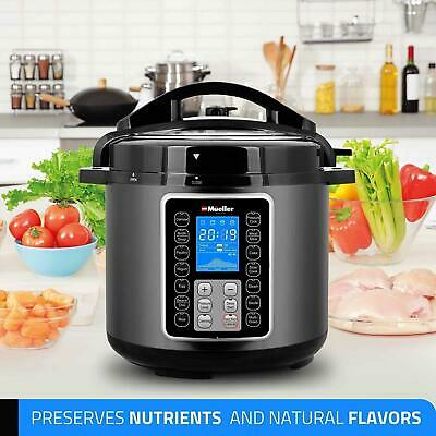Color : Silver, Size : 8L Multi-Setting Pressure Cooker Stainless ...