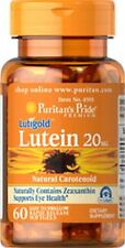 Puritan's Pride Lutigold Lutein 20 mg 60 softgels Support Eye Health USA FAST