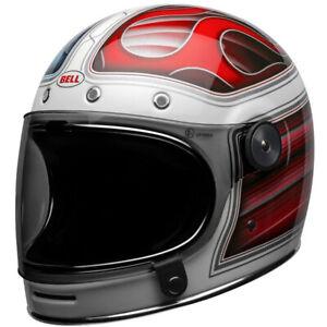 Bell-Bullitt-SE-Street-Cruiser-Motorcycle-Helmet-Barracuda-White-Red-Blue-XLarge