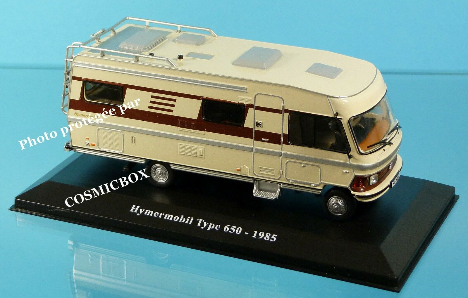 Camping - wagen hymermobil art 650 de son 1985 hymer int é gral caravane neuf