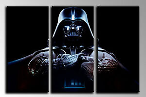 Cuadro Moderno Fotografico base madera, 90 x 62 cm, Darth Vader, Star Wars