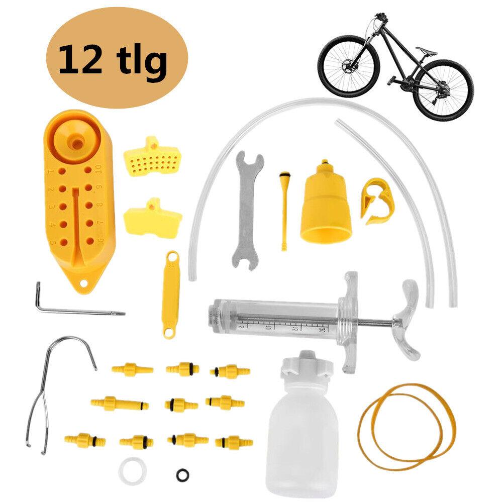 BE Fahrrad Entlüftungskit Bleed Kit f EZ//Shimano Tektro Magura Scheibenbremsen