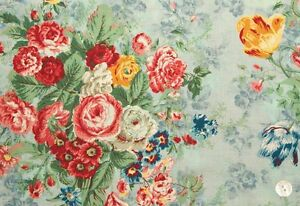 Cottage-Shabby-Chic-Quilt-Gate-Mary-Rose-Floral-Bouquets-Julia-MR2180Y-11D-BTY