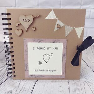 Personalised Hen Party Maid Of Honour Memory Scrap Book Gift Bride Wedding Ebay