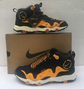 Vintae Nike Air Minot Gore-tex Hiking Sneaker Navy yellow black ... 381484055