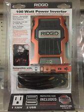 Ridgid RD97100 100 Watt Power Inverter