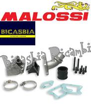 6511 - COMPLESSIVO MALOSSI COLLETTORE LAMELLARE CARTER PHBL 25 VESPA 50 SPECIAL