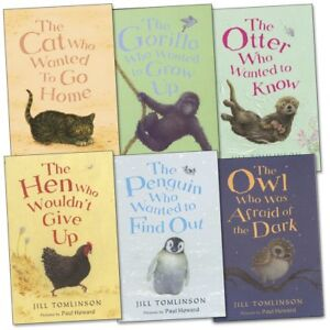 Favourite-Animal-Stories-Collection-By-Jill-Tomlinson-6-Books-Set-Cat-Who-Wanted