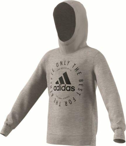 adidas Performance Kinder Kapuzenjacke Sport ID Hoodie grau