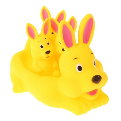 1SET Cute Animal Float Squeeze Sound Squeaky Shower Water Baby Bath Bathtub Toys